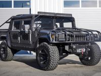 Hummer H1 Gets Customizations and New Power, Installation by MSA