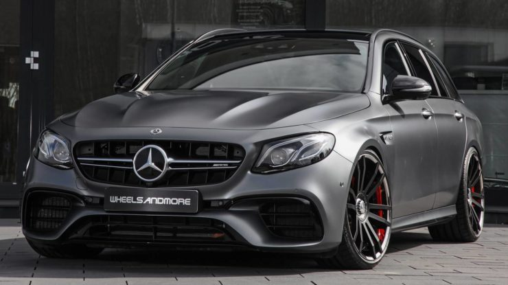 Mercedes-AMG E63 C by WheelsAndMore Packs 712HP