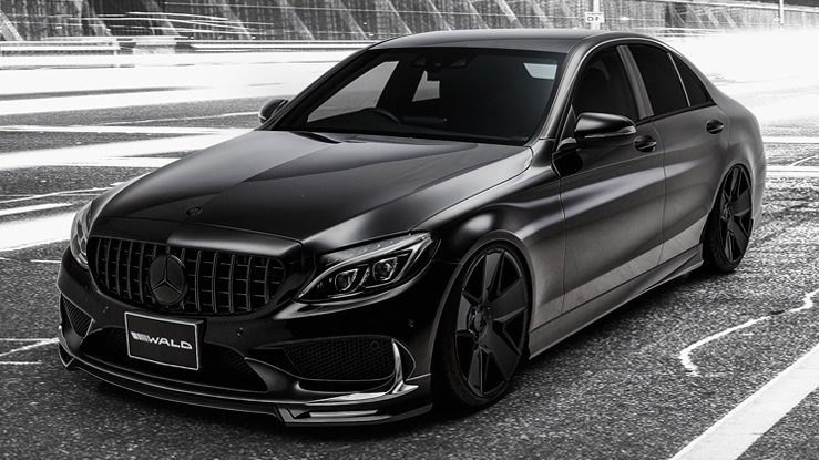 This Is One Crazy Mercedes C-Class with Executive Line Package by Wald International