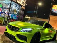 RDBLA`s Mercedes-AMG C63 S Coupe in Lime Green Is a Real Kicker