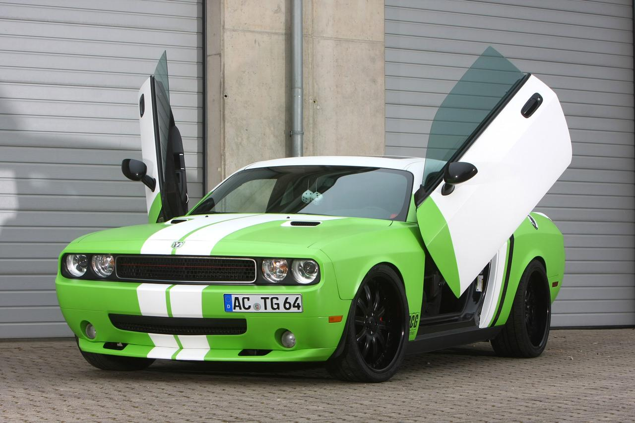 CCG Automotive unveils Dodge Challenger SRT-8 tuning kit