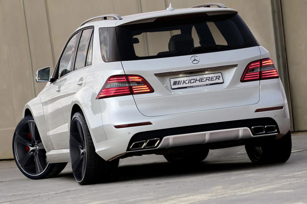 Kicherer unveils Mercedes M-Class tuning program