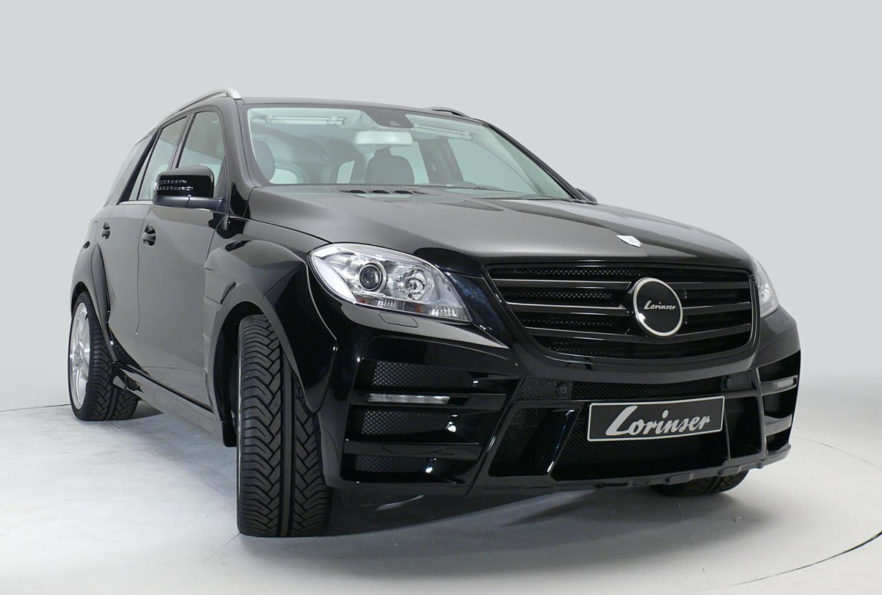 2012 Mercedes M-Class by Lorinser