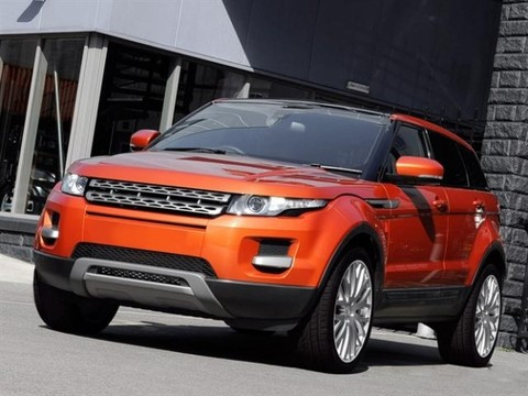 Range Rover Evoque tuned by Kahn Design
