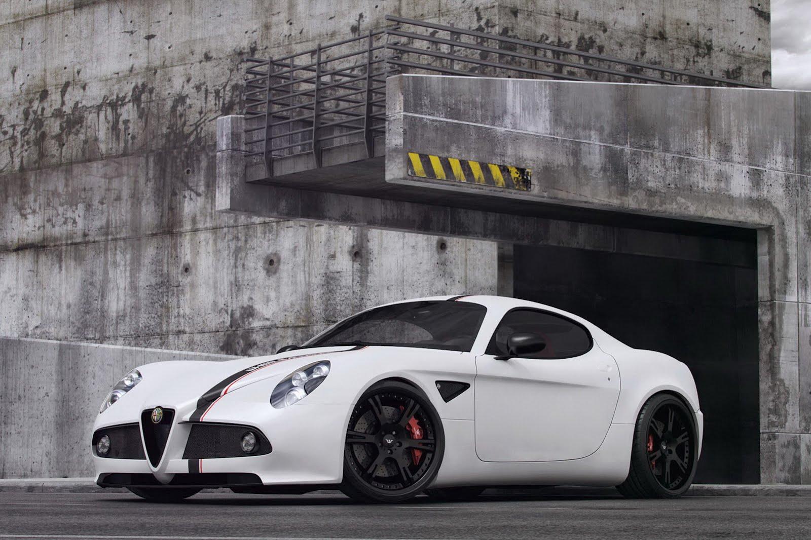 Alfa Romeo 8C Competizione by Wheelsandmore