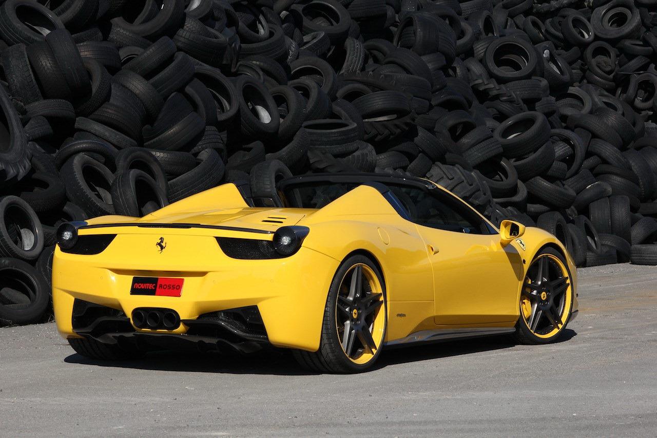 Ferrari 458 Italia Spider by Novitec Rosso