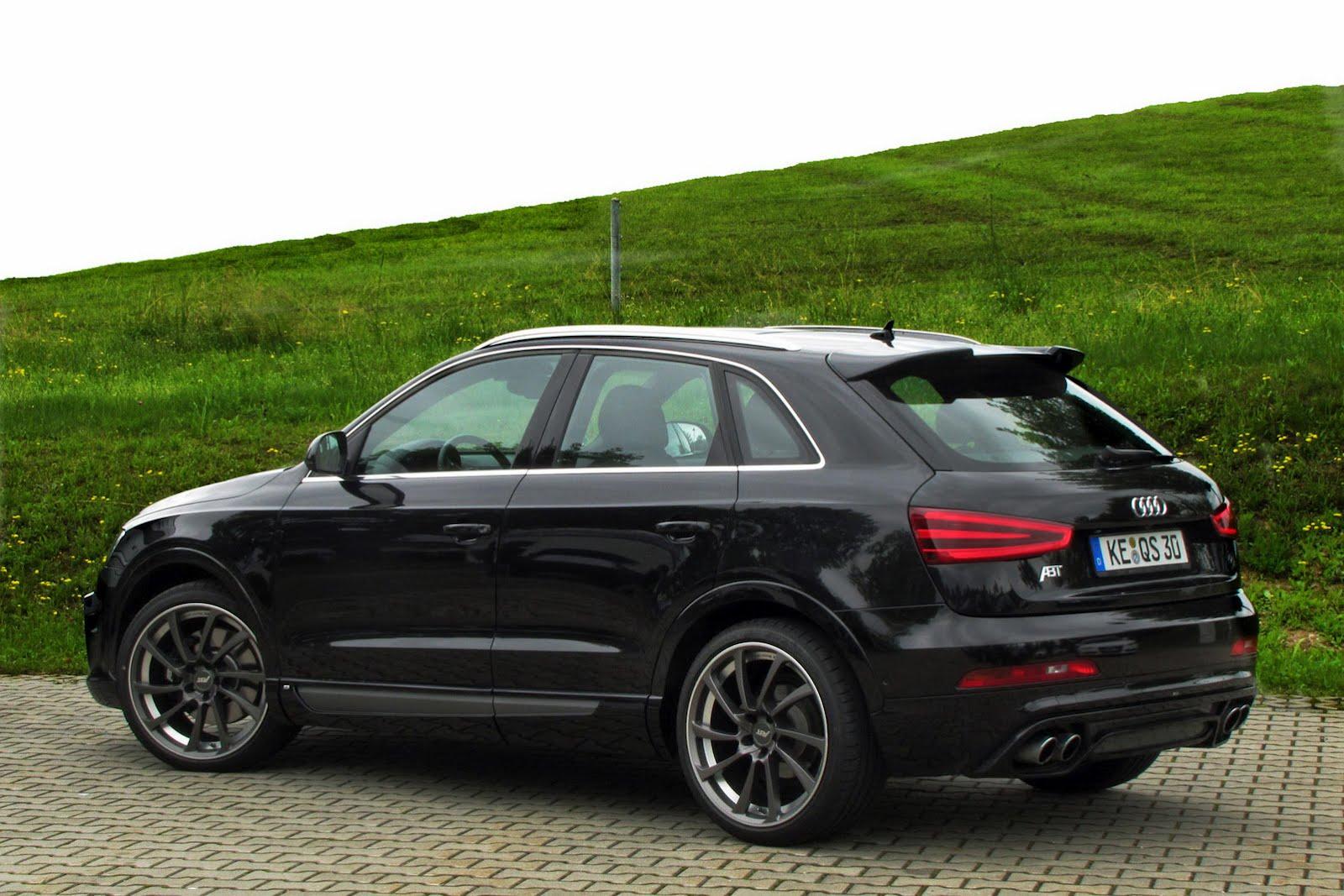 Audi Q3 prepared by ABT Sportsline