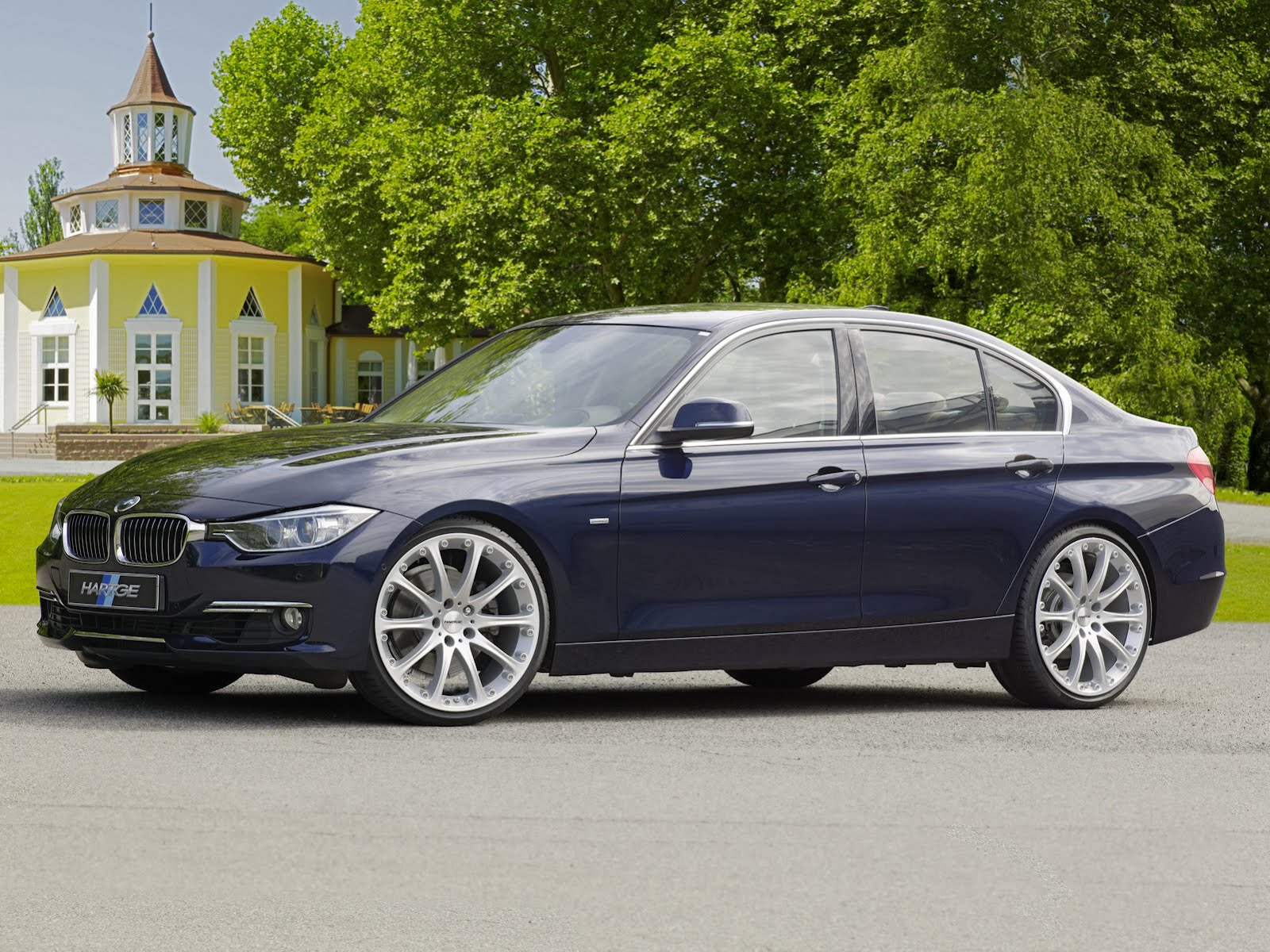 BMW 328i gets performance boost from Hartge