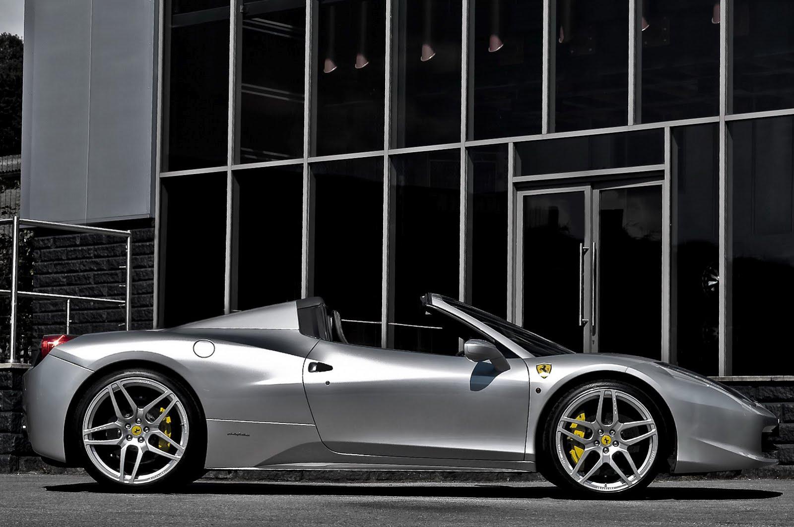Kahn Design's take on Ferrari 458 Italia Spider