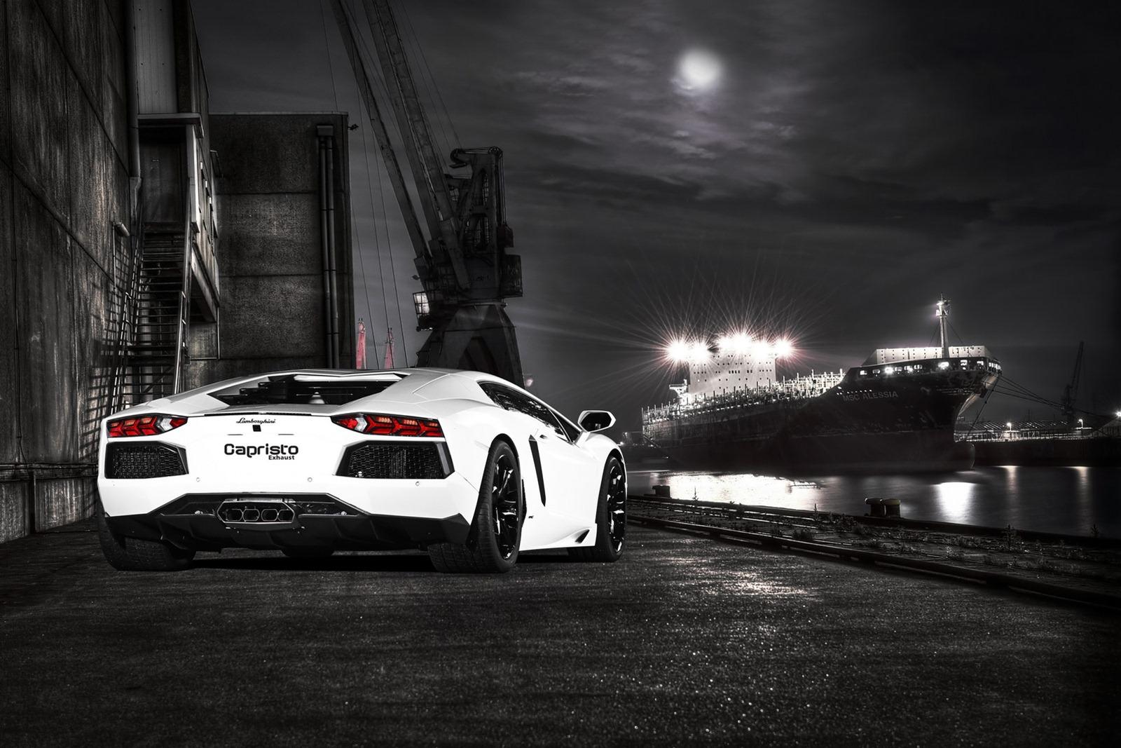 Lamborghini Aventador tuned by Capristo