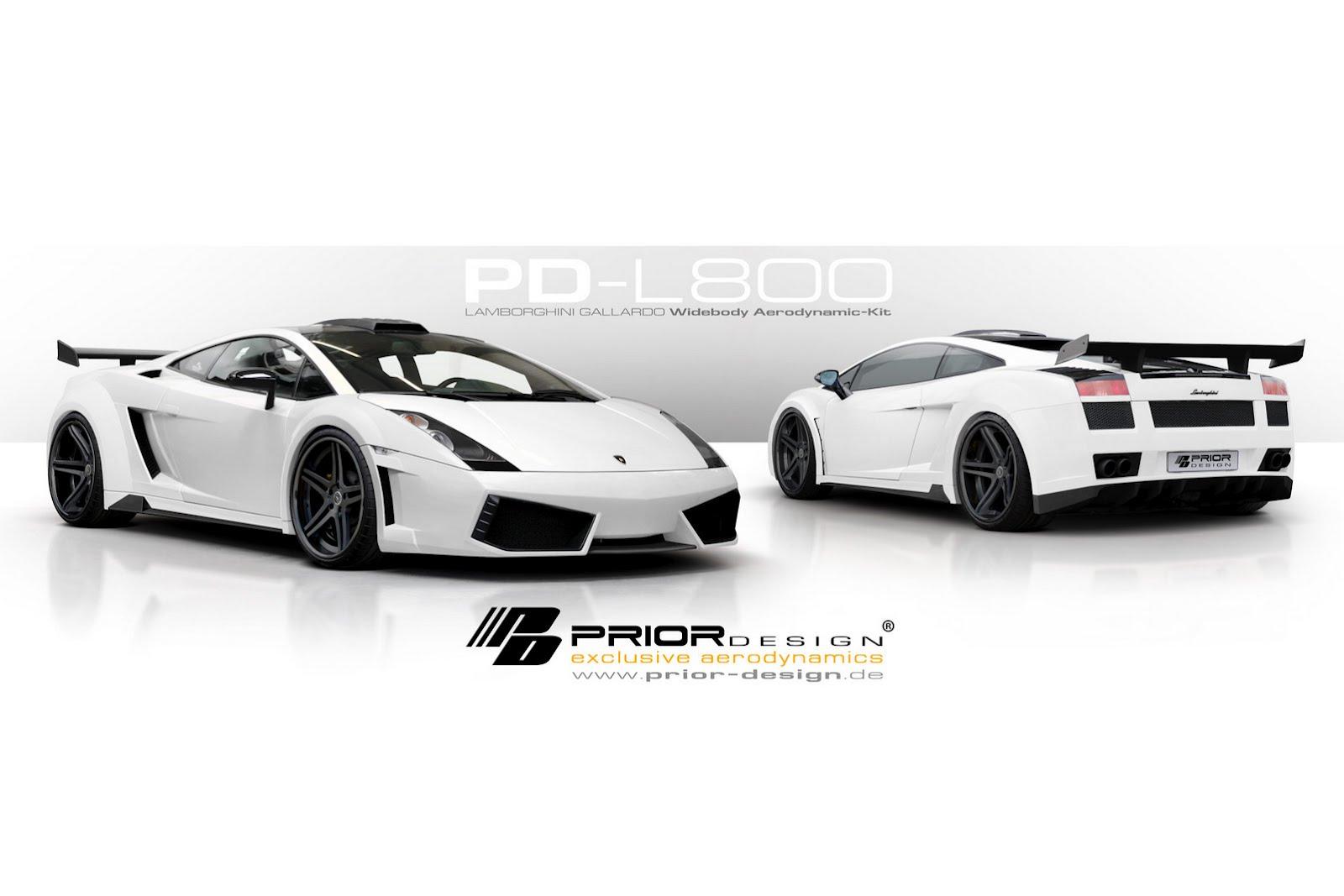 Prior Design tunes the Lamborghini Gallardo