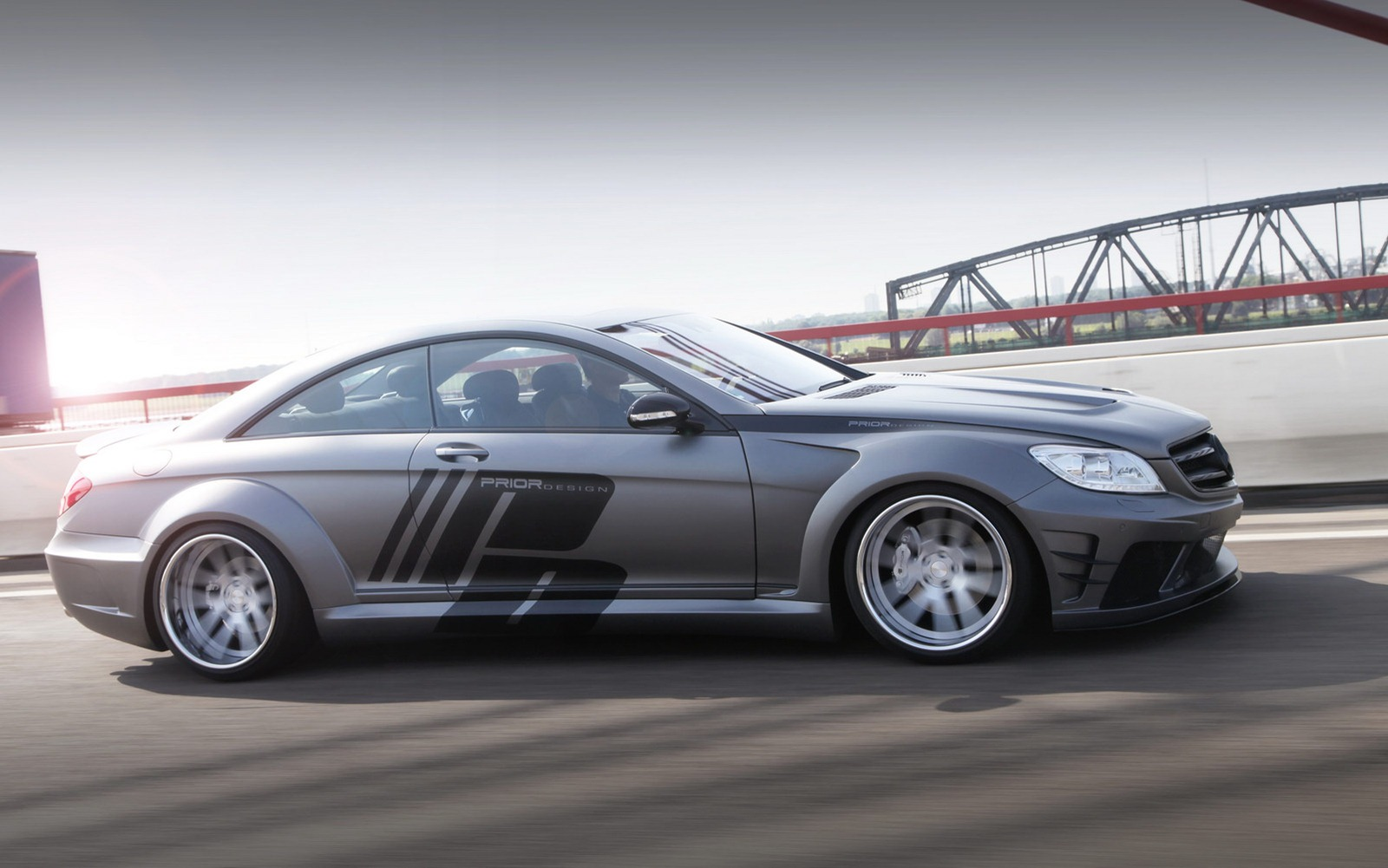 Mercedes CL-Class Coupe restyled by Prior Design