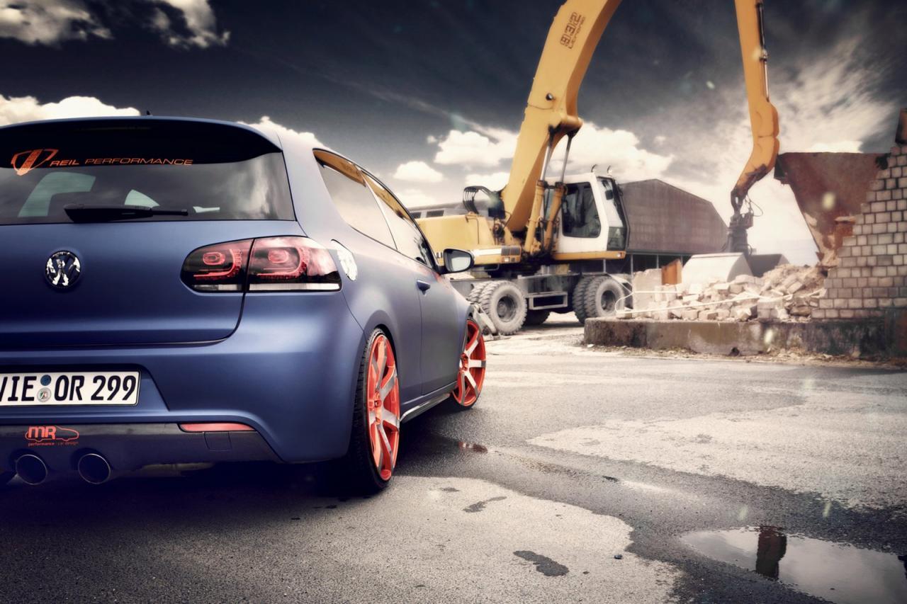 BBM Motorsport tunes the Volkswagen Golf GTI
