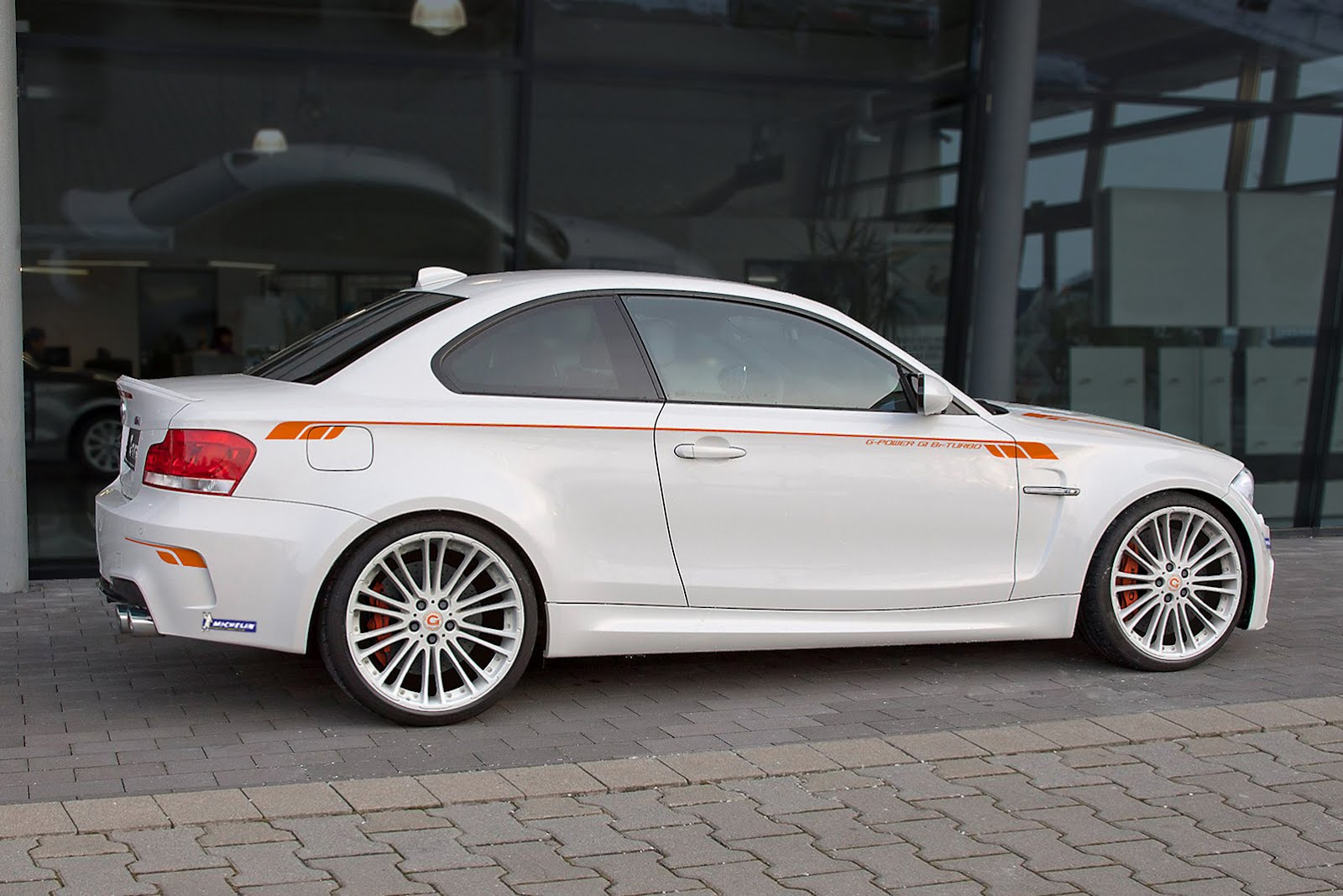 G-Power tunes the BMW 1 Series M Coupe