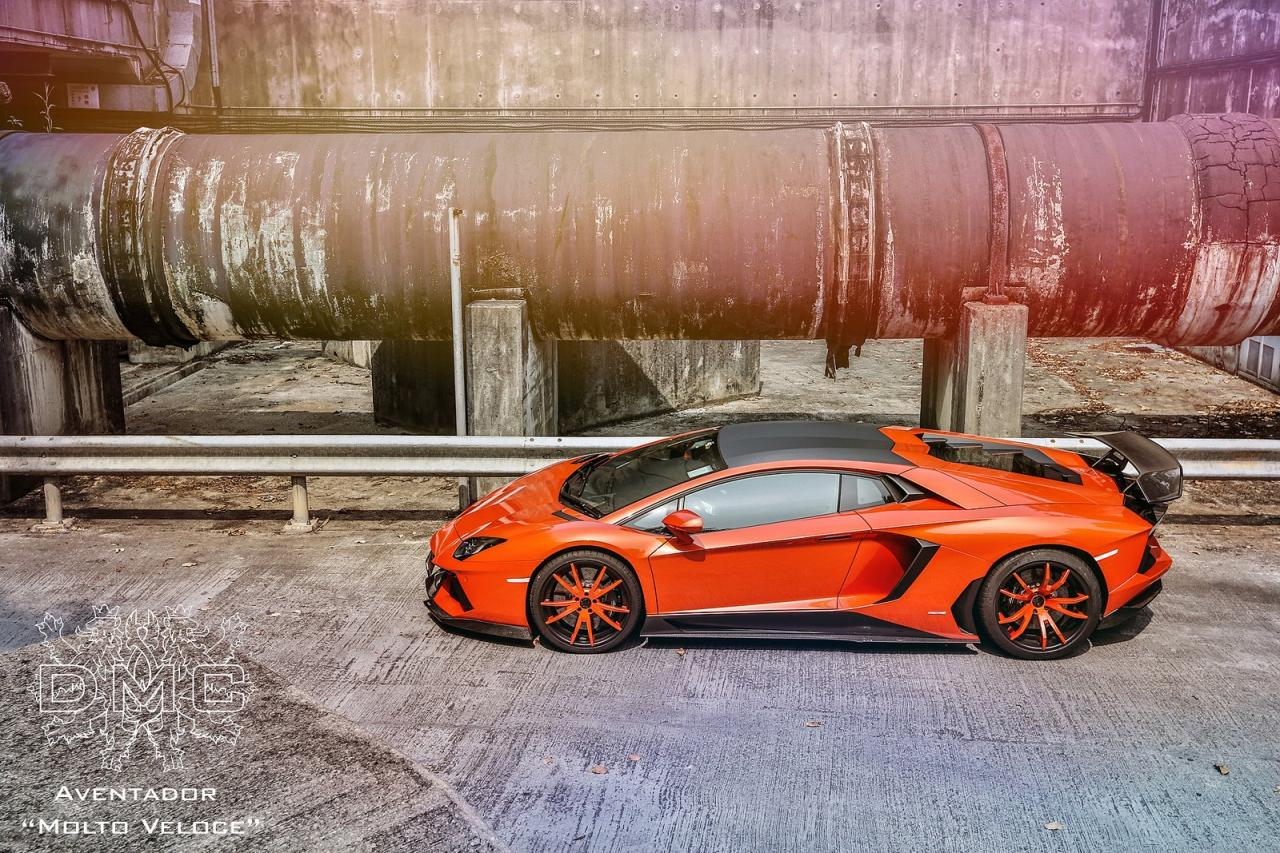 DMC unveils the Lamborghini Aventador LP900