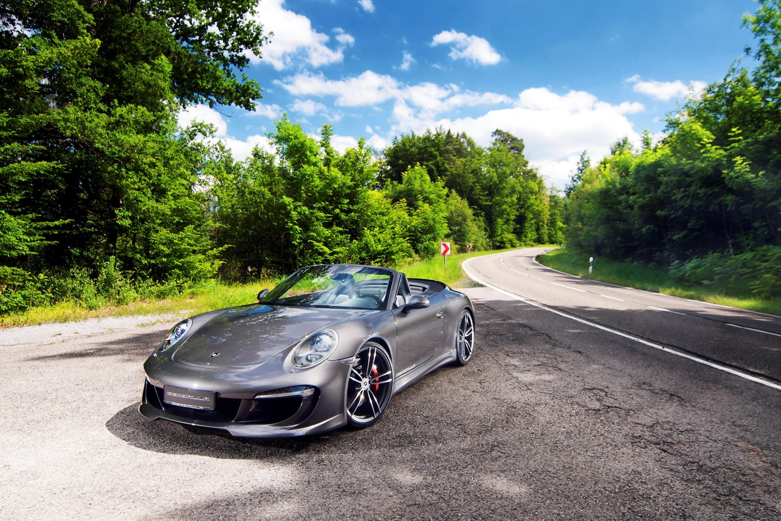 Porsche 911 Cabriolet S with GT pack from Gemballa
