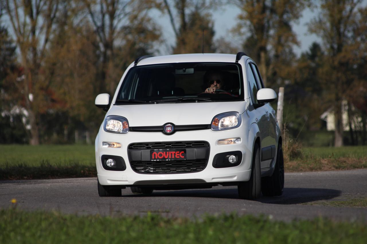 Novitec tunes the little Fiat Panda