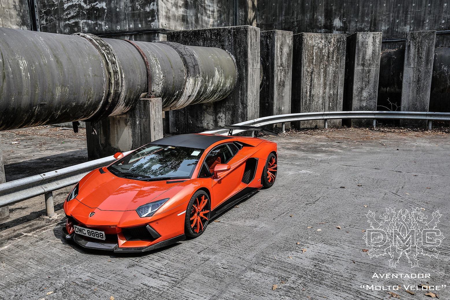 DMC unveils the Lamborghini Aventador LP900-4 Molto Veloce