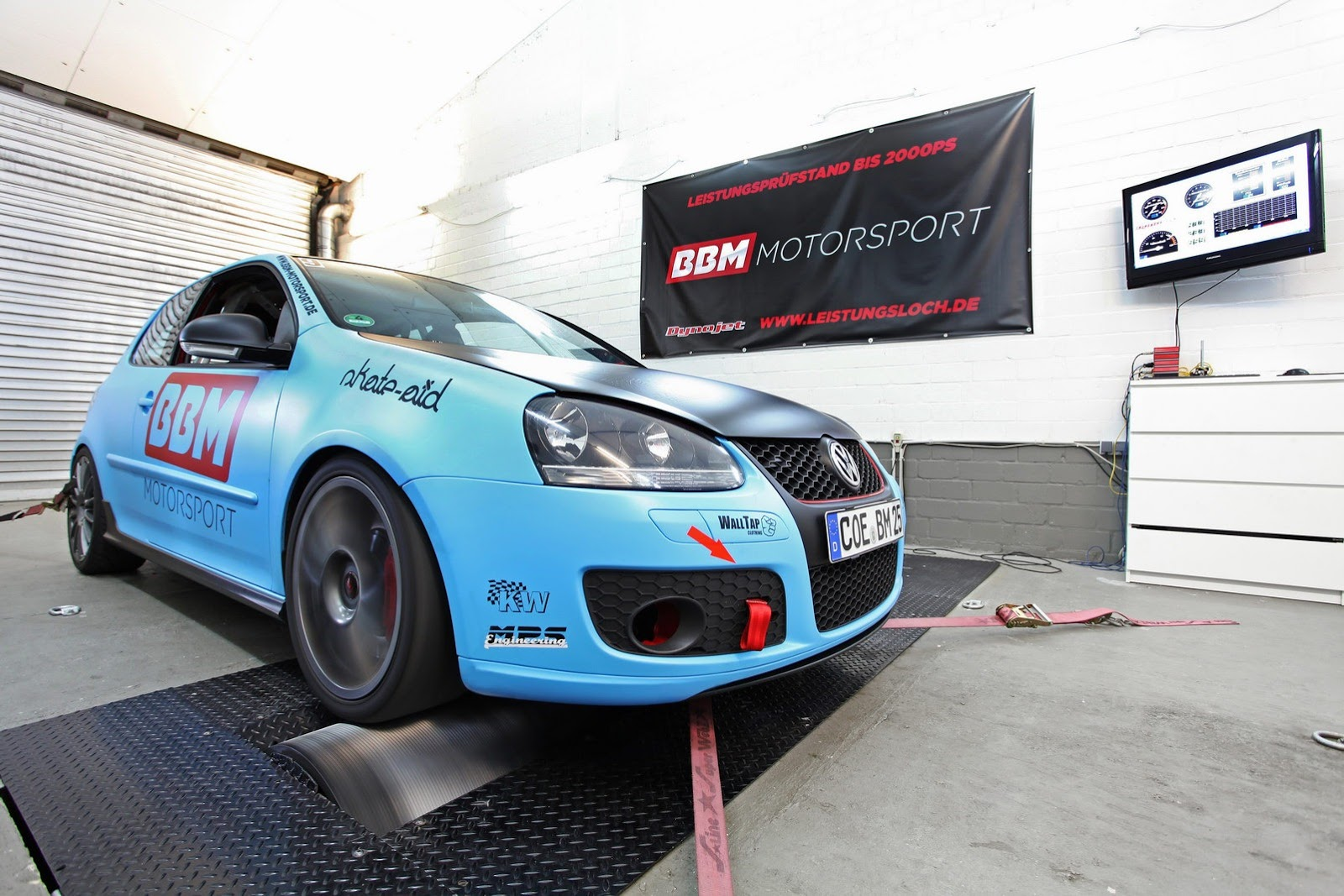 BBM Motorsport reveals VW Golf GTI V tuning kit