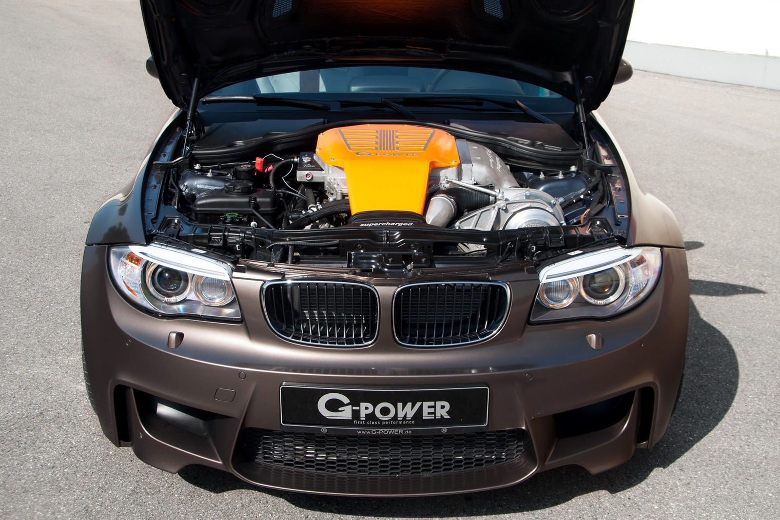 BMW 1M Coupe by G-Power first drive
