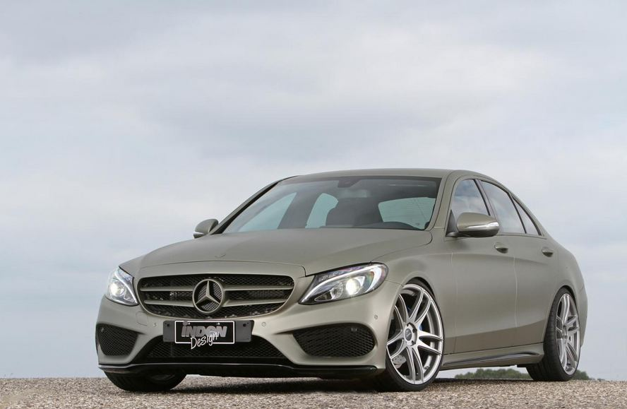 Inden Design tunes the Mercedes C180 AMG Line