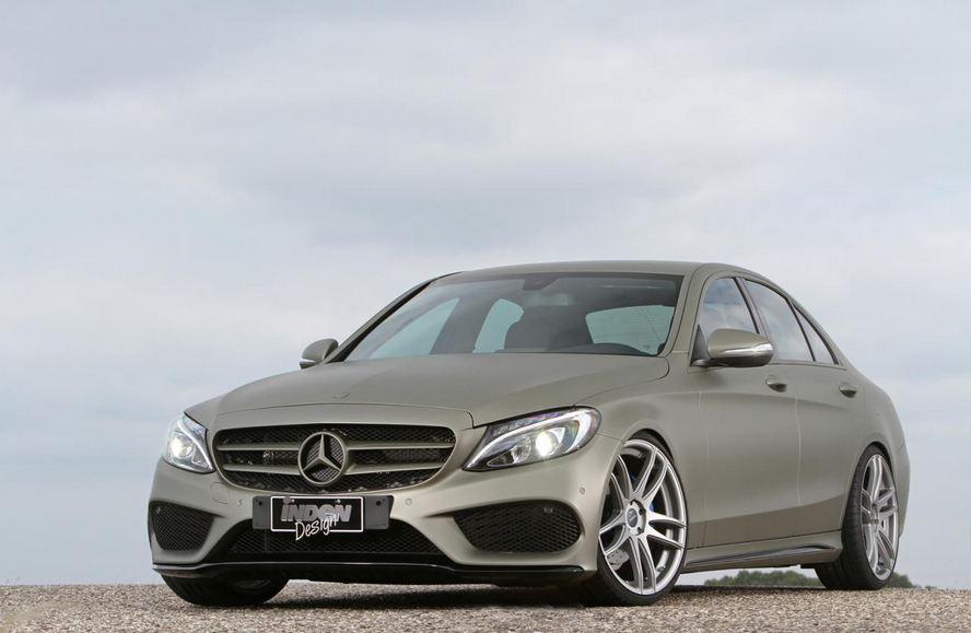Inden Design tunes the Mercedes C180 AMG Line