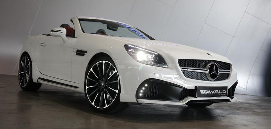 Wald International restyles the Mercedes SLK