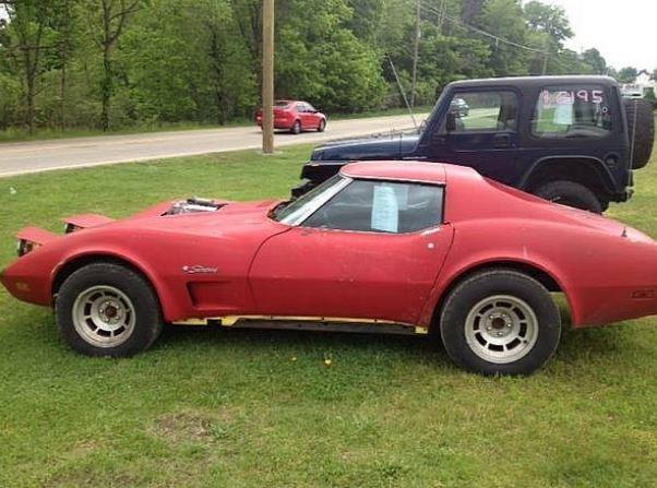 1974 Chevrolet Corvette Stingray engine swap