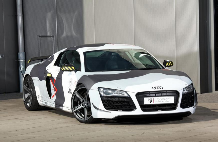 Audi R8 by mbDESIGN introduced