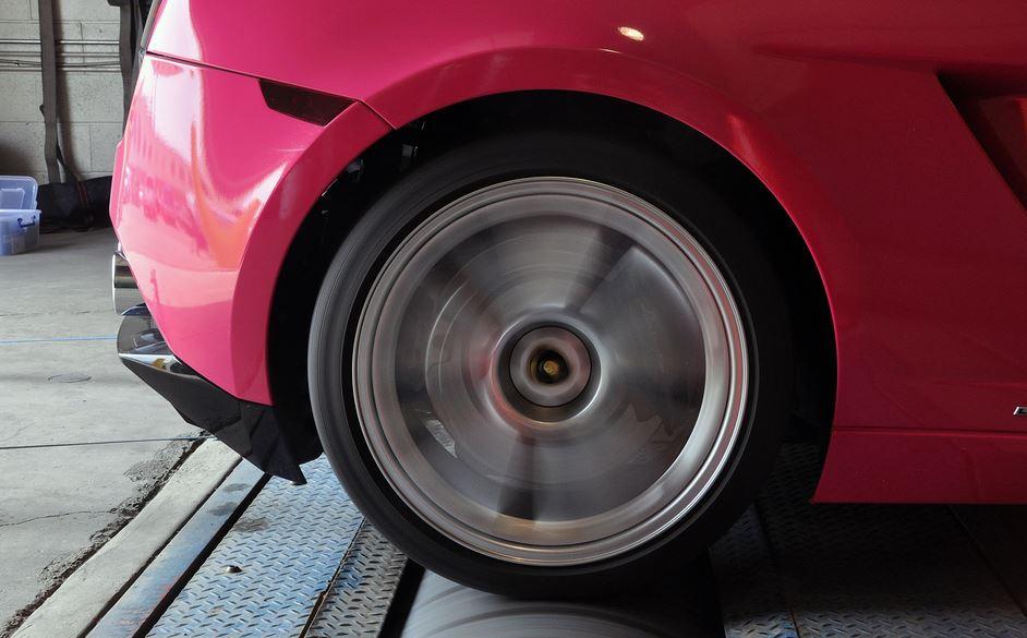 Pink Lamborghini Gallardo LP560