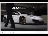 McLaren 12C tune by ADV.1 and Fabspeed