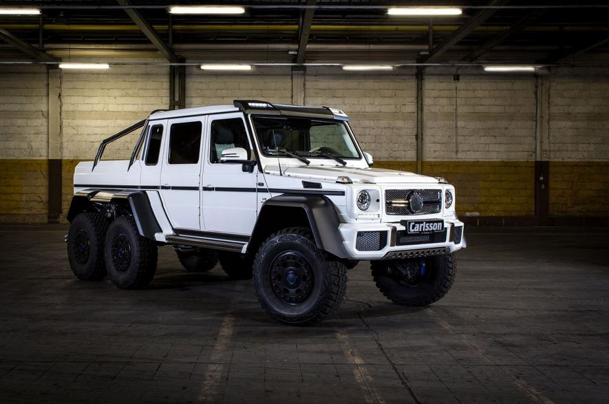 Mercedes-Benz G63 AMG 6x6 by Carlsson