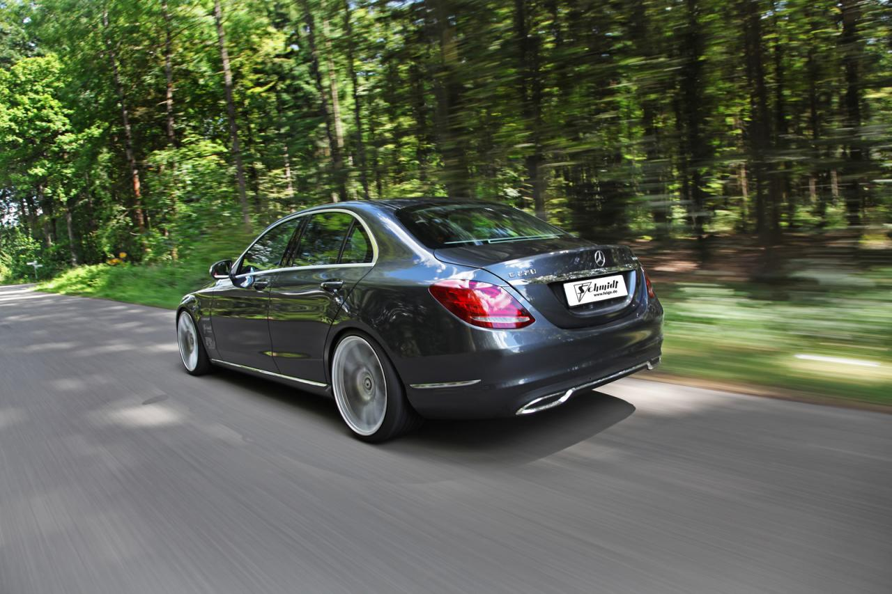 Mercedes C220 BlueTEC by Schmidt Revolution