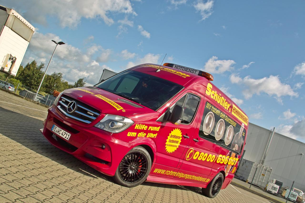 Mercedes Sprinter gets styling tweaks from Hartman