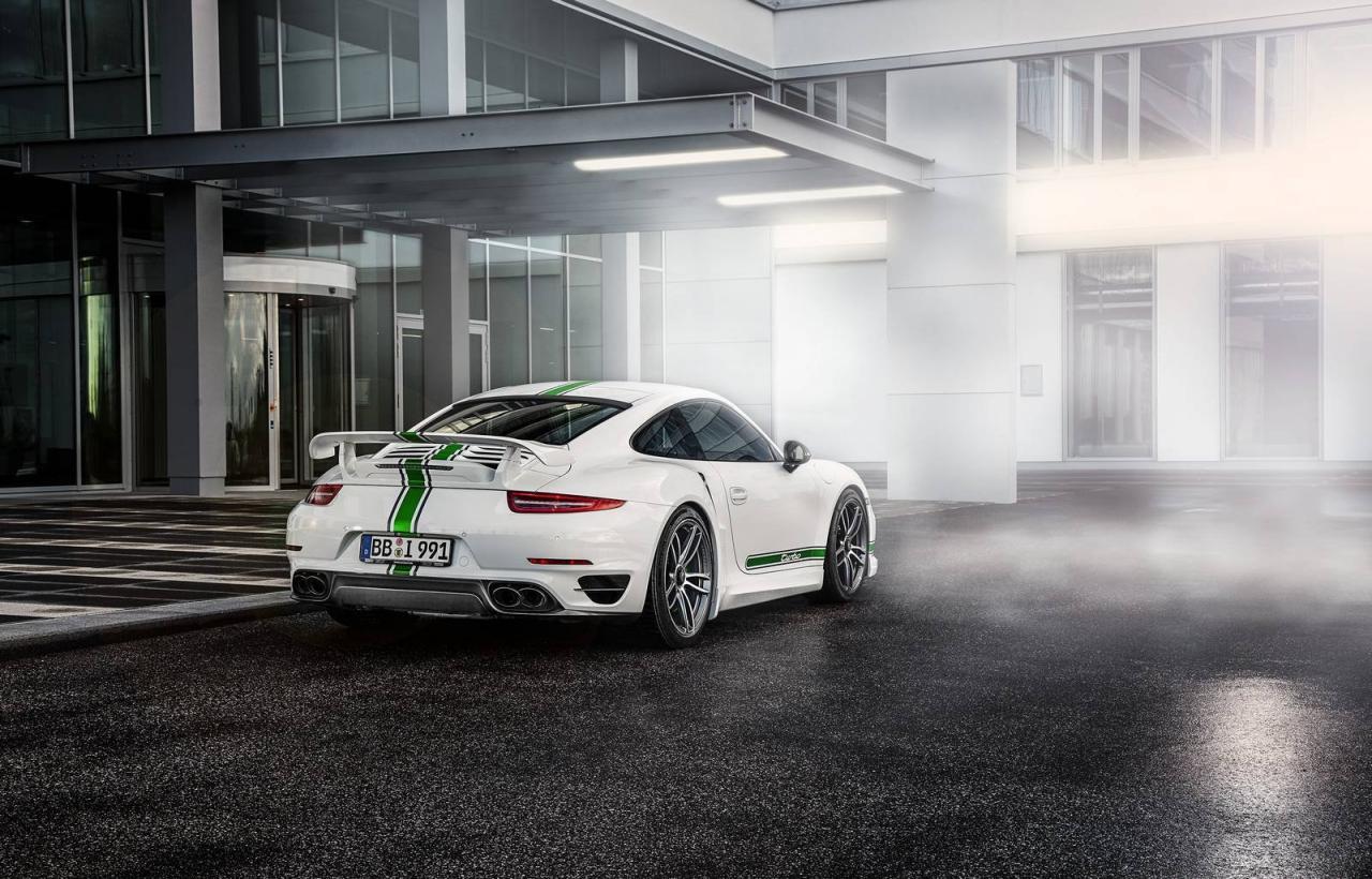 Porsche 911 Turbo tuned by TechArt