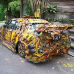 Tuned car from Bali