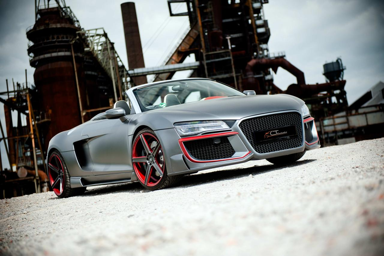 CT Exclusive tunes the Audi R8 Spyder