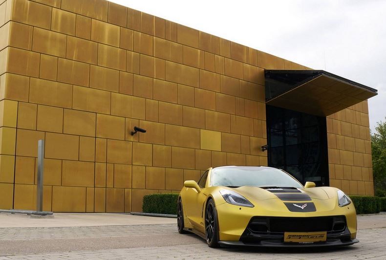 Chevrolet Corvette C7 Stingray tuned by GeigerCars