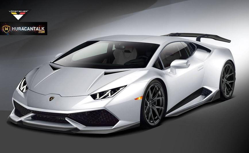 Vorsteiner previews the Lamborghini Huracan kit