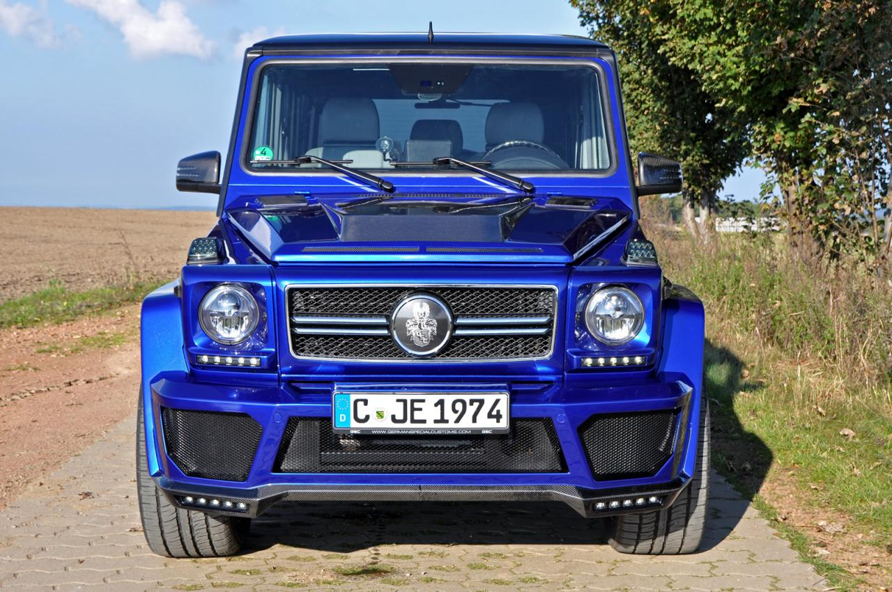 Mercedes G-Class tuned by German Special Customs