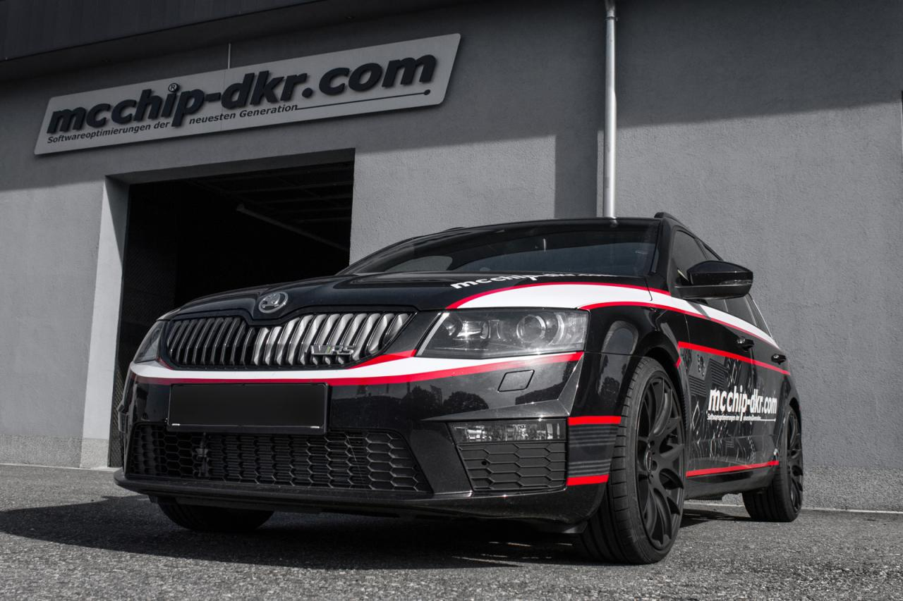 Skoda Octavia Combi vRS gets extra power from mcchip-dkr