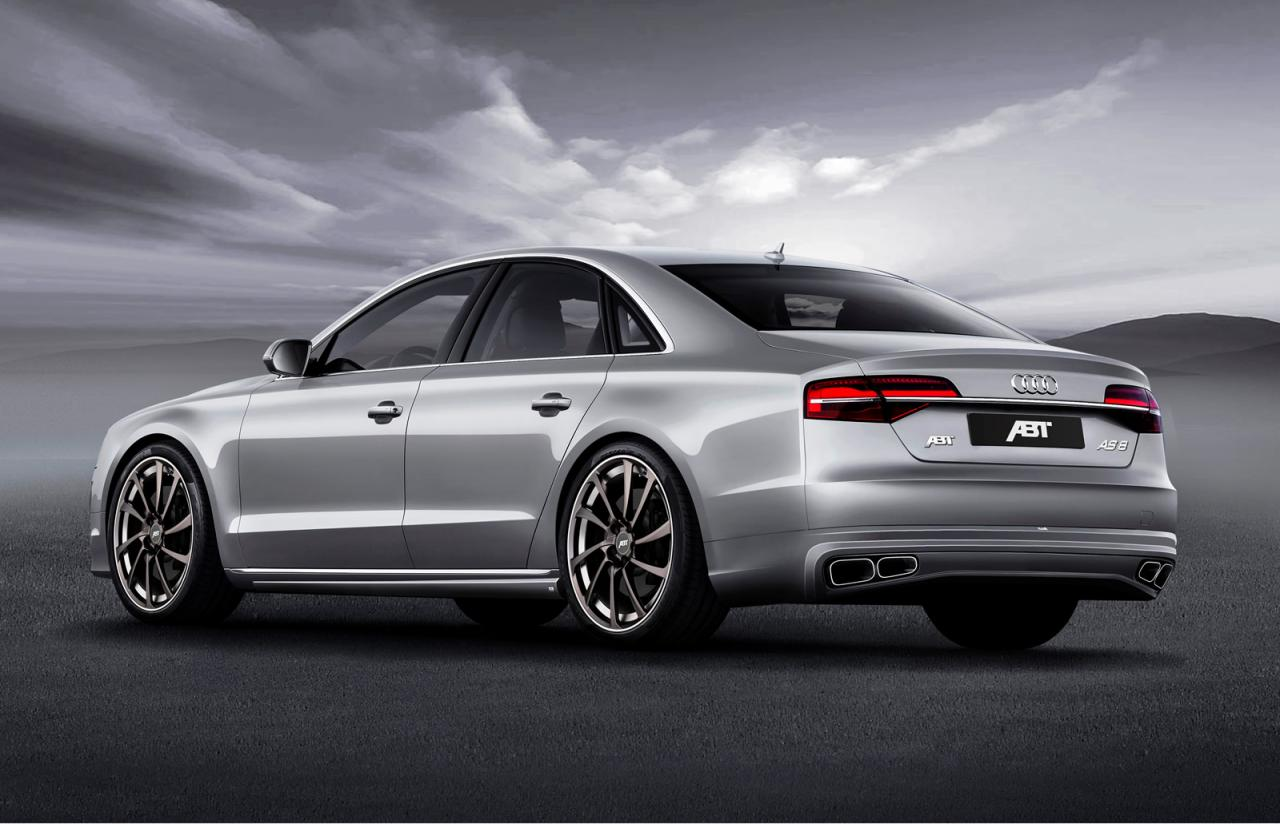 Audi A8 facelift by ABT Sportsline
