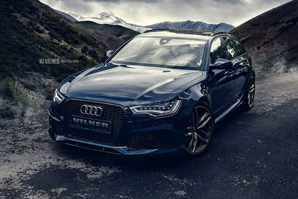 Audi RS6 Avant gets a new interior from Vilner