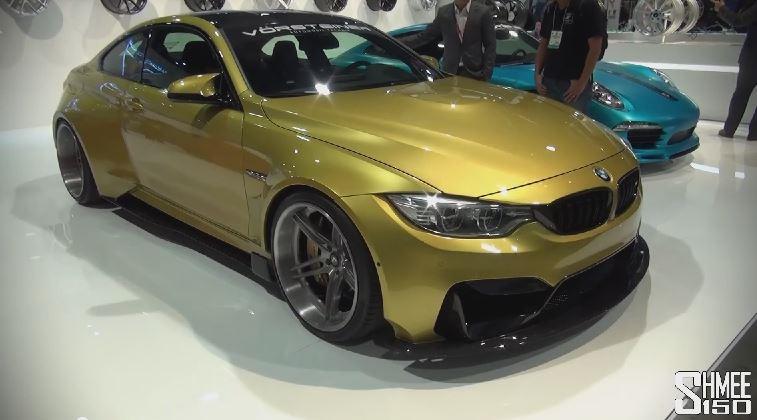 BMW M4 body by Vorsteiner