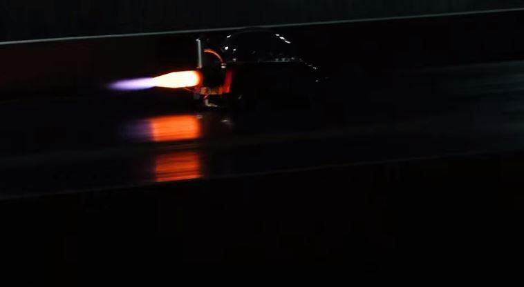 Jet engine Peel Trident