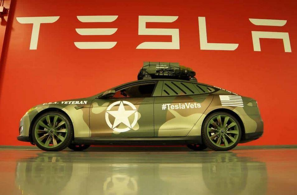 Tesla Model S by SS Customs