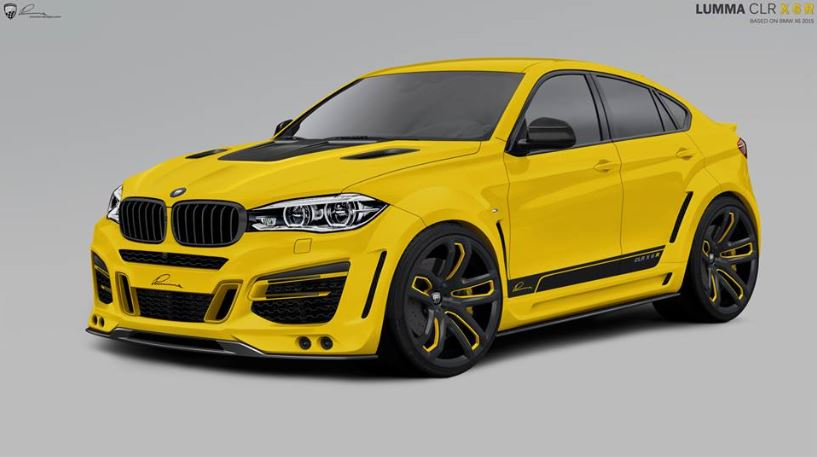 BMW X6 xDrive50i by Lumma Design