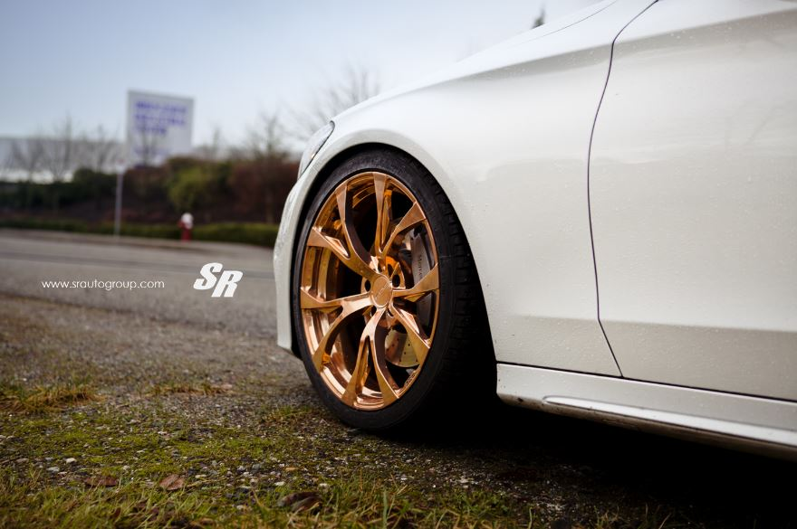 Mercedes C300 by SR Auto Group