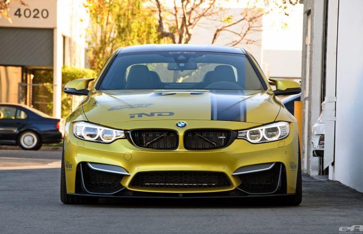 Austin Yellow BMW M4 Coupe by European Auto Source