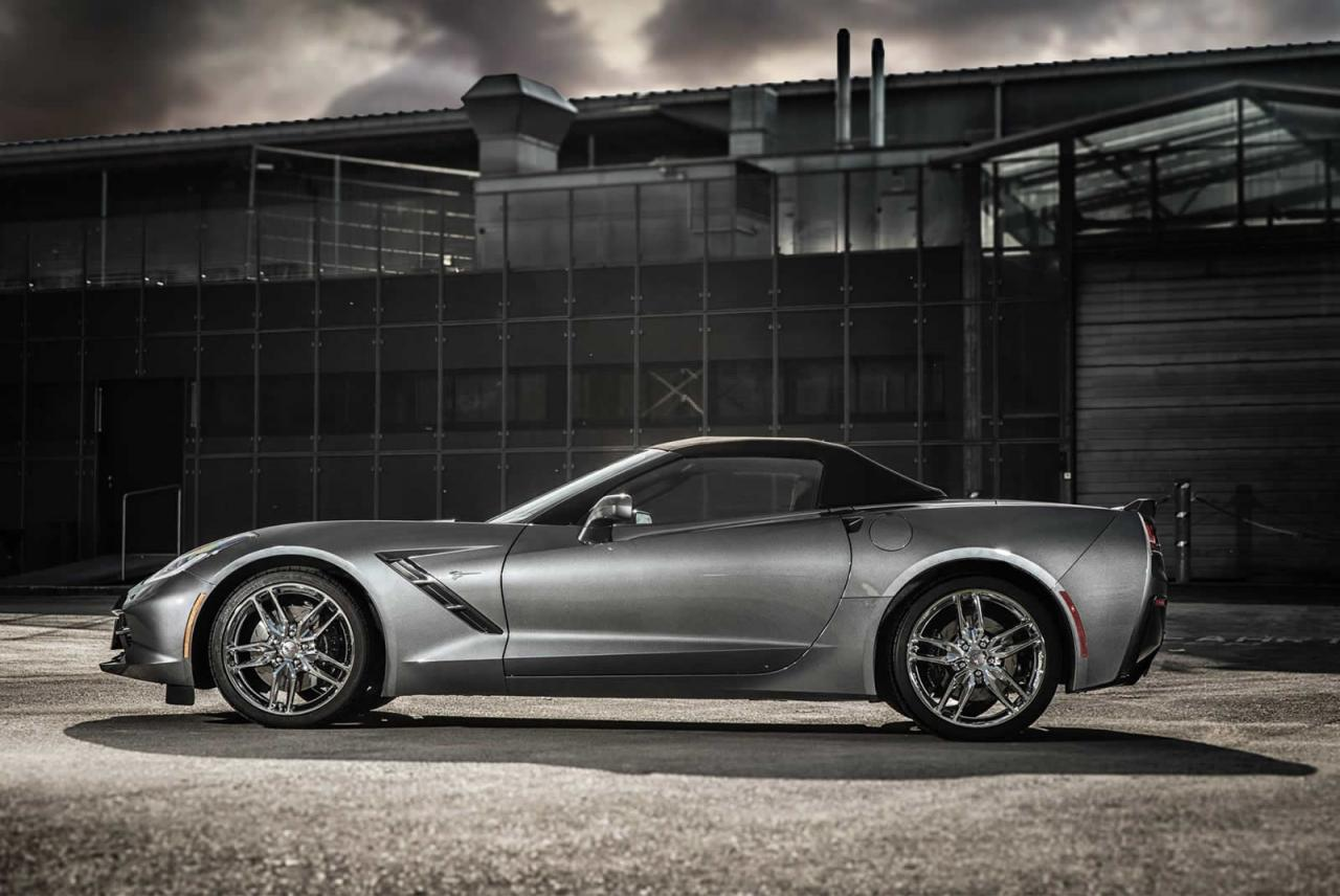 Chevrolet Corvette Stingray Convertible by O.CT Tuning and Edelbrock